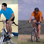 Stationary bike vs outdoor cycling