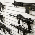 Top rated paintball markers on a wall