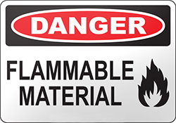 Flammable Material safety footwear