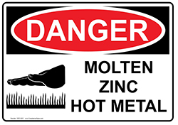 Molten Metal safety footwear