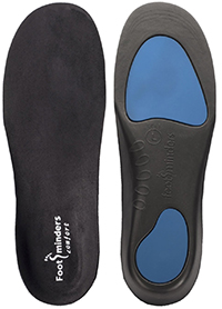 Footminders COMFORT Orthotic Arch Support Insoles for Sports Shoes and Work Boots