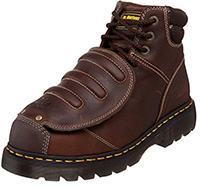 Dr. Martens Men's Ironbridge MG ST Steel-Toe Met Guard Boot