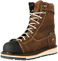 "Timberland PRO Men's Gridworks 8"" Soft-Toe Waterproof Industrial and Construction Boot"