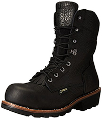 "Wolverine Men's Buckeye Non-Insulated EAA Safety-Toe 8"" Logger Work Boot"