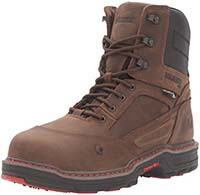 "Wolverine Men's Overman 8"" Insulated Waterproof Comp-Toe Work Boot"