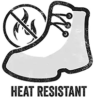 heat resistant material for boots