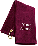 Personalized Tri-Fold Golf Towel