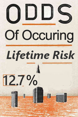 Odds on construction manager lifetime risk