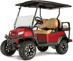 Electric Golf Cart working with batteries
