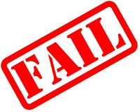 Failure is normal for bwginners