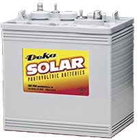 Deka/MK Battery 8GGC2 6V 180 AH AT 20HR HD TYPE GEL BATTERY