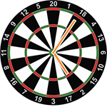 Around the Clock darts game