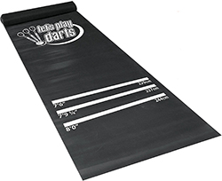 Dart World Let's Play Darts Dart Mat