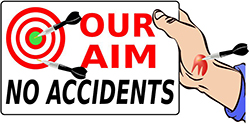 aim for no accidents