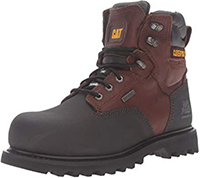 "Caterpillar Men's Creston 6"" Waterproof TX Comp Toe Industrial and Construction Shoe"