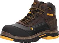 """Wolverine Men's Overpass 6"""" Composite Toe Waterproof Insulated Work Boot"""