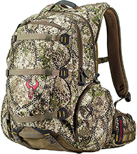 Badlands Superday Camouflage Hunting Backpack - Bow, Rifle, and Pistol Compatible