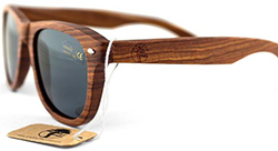 viable harvest Real Solid Handmade Wooden Sunglasses for Men