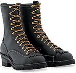 """Wesco Highliner 10"""" Lineman Work Boot Black"""