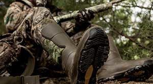 warm hunting boots